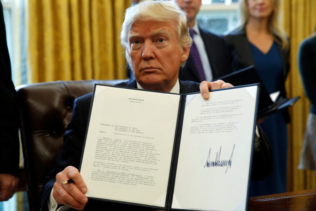 Donald trump coronavirus executive order adjustment of status